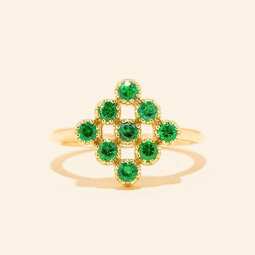 Magic-Topkapi Emerald Ring