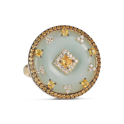 Celeste Yellow Sapphire Ring