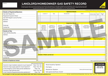 Gas Safety Certificates For Landlords