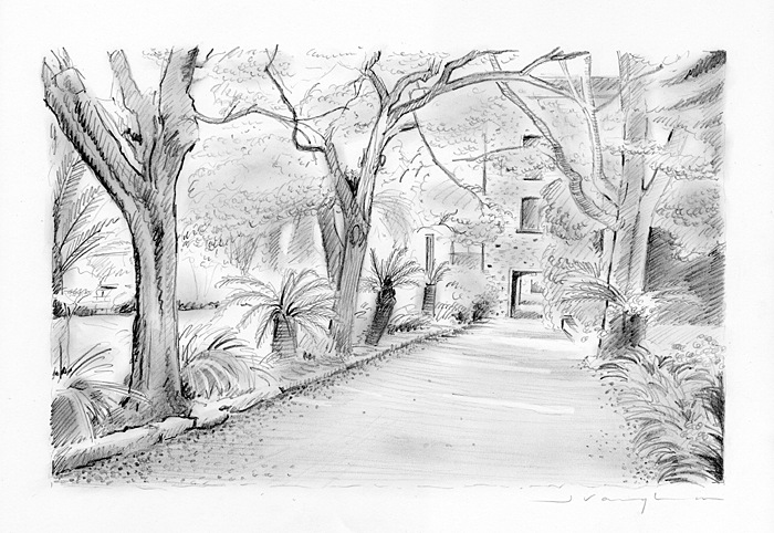 Professional Pencil Drawing Sketches J Vaughan Artist