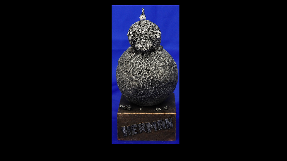 Herman The Planet Smasher Limited Edition Figurine