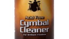 Cymbal Cleaner - Acid Free Cleaner, Polisher, Protectant for Brilliant Finishes