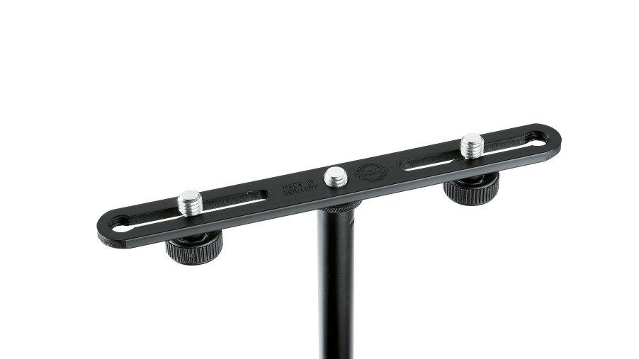 K&M Dual Microphone Bar 23550