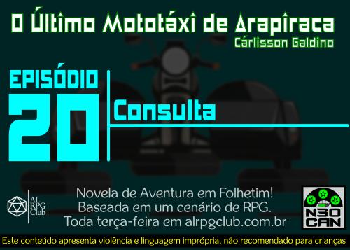 O Último Mototáxi de Arapiraca (consulta)