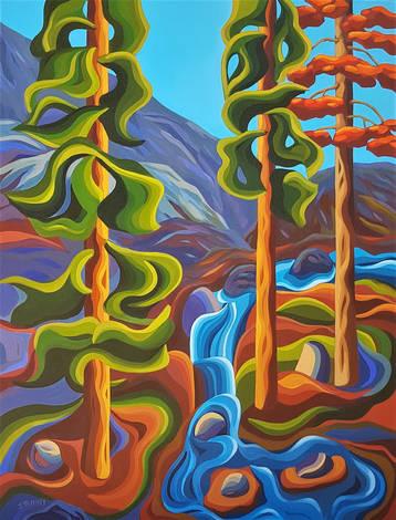 Pacific Coastal Flow - Art Commission