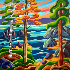 Gulf Island Sunrise