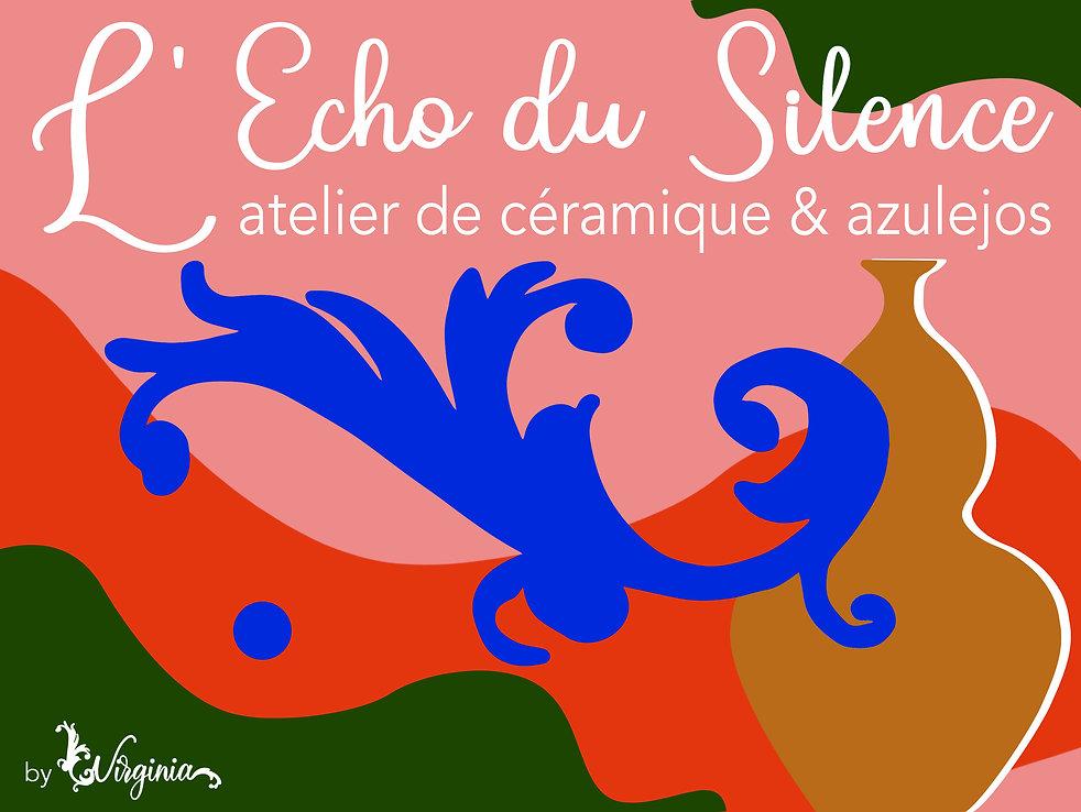 Atelier de céramique dédié à l'art Azulejos, L'écho Du Silence est le seul atelier Français spécialisé dans la création de céramiques de l'art Azulejos. Céramiste d'Art Azulejos France