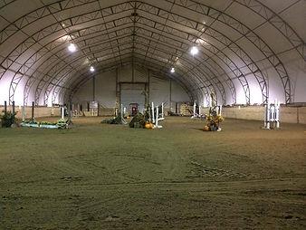 Indoor Arena - Horse Boarding, Horse Stables, Belinda La Belle, Belle Wood, Bellewood