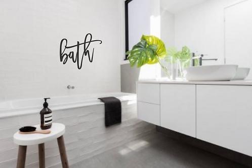 Bath Sign   Restroom   Unfinished   Bathe   Get Naked   Shit Happens   New Home