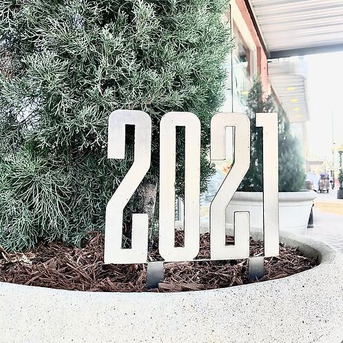 2021 Metal Yard Stake
