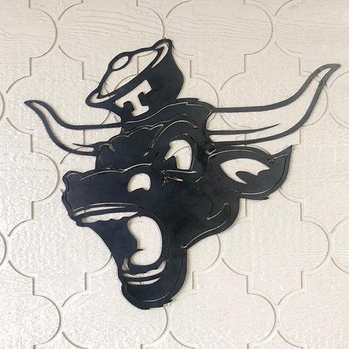 Texas Longhorns UT Football Bevo Wall Plaque