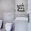 Thumbnail: Wash your hands | Bathroom Wall Decor | Wall Sign | Guest Bath | Kid Bath | Farm