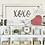 Thumbnail: XOXO Metal Wall Sign