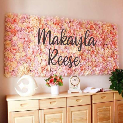 Oversized Huge Wall Name | Nursery Sign | Custom