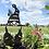 Thumbnail: Gnome garden yard stakes SET OF FOUR