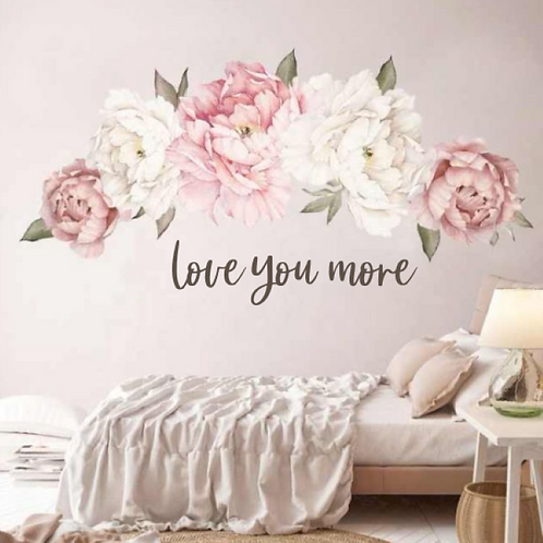 Love you more | Farmhouse | Sign | Lettering | Quote | Script | Home and
