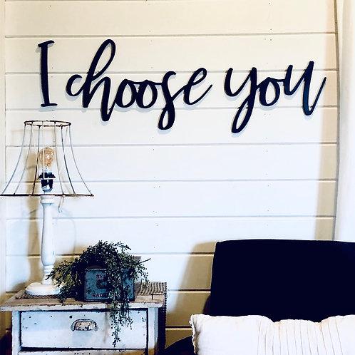 I choose you Wall Script