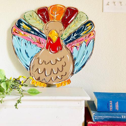 Wooden Turkey Door Hanger - DIY - Wooden Blank