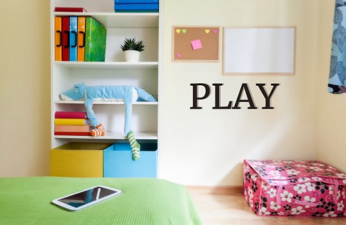 PLAY room Letters | DIY | SIgn | KId Room | Huge | Custom | Single | Wall Words