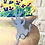 Thumbnail: Metal Hanging Bunny