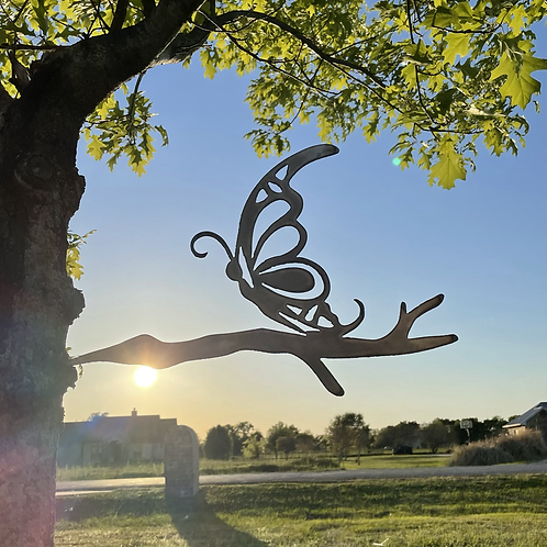 Butterfly Tree Stake