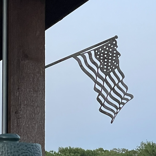 American Flag Tree Stake