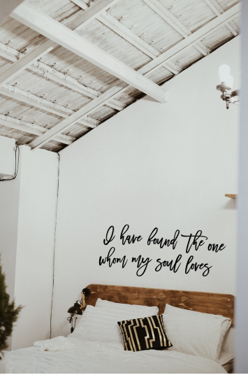 I have found the one whom my soul loves | Sign | DIY | Unfinished | Wall Art |