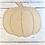 Thumbnail: Pumpkin Door Hanger Blank - Paint by Line