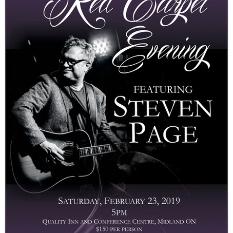 STEVEN PAGE TRIO TO PLAY FUNDRAISER FOR CLH FOUNDATION