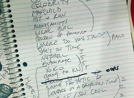 Live From Home shows setlist charity auctions!