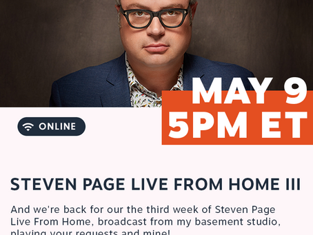 Live from Home III - May 9, 5pm -on sale now!