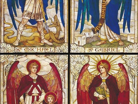 Loving activity of the Holy Angels