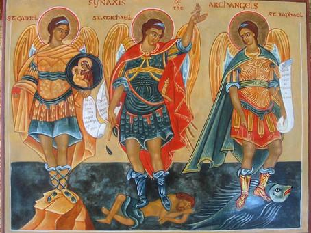 Feast of St. Michael, St. Gabriel and St. Raphael, Archangels
