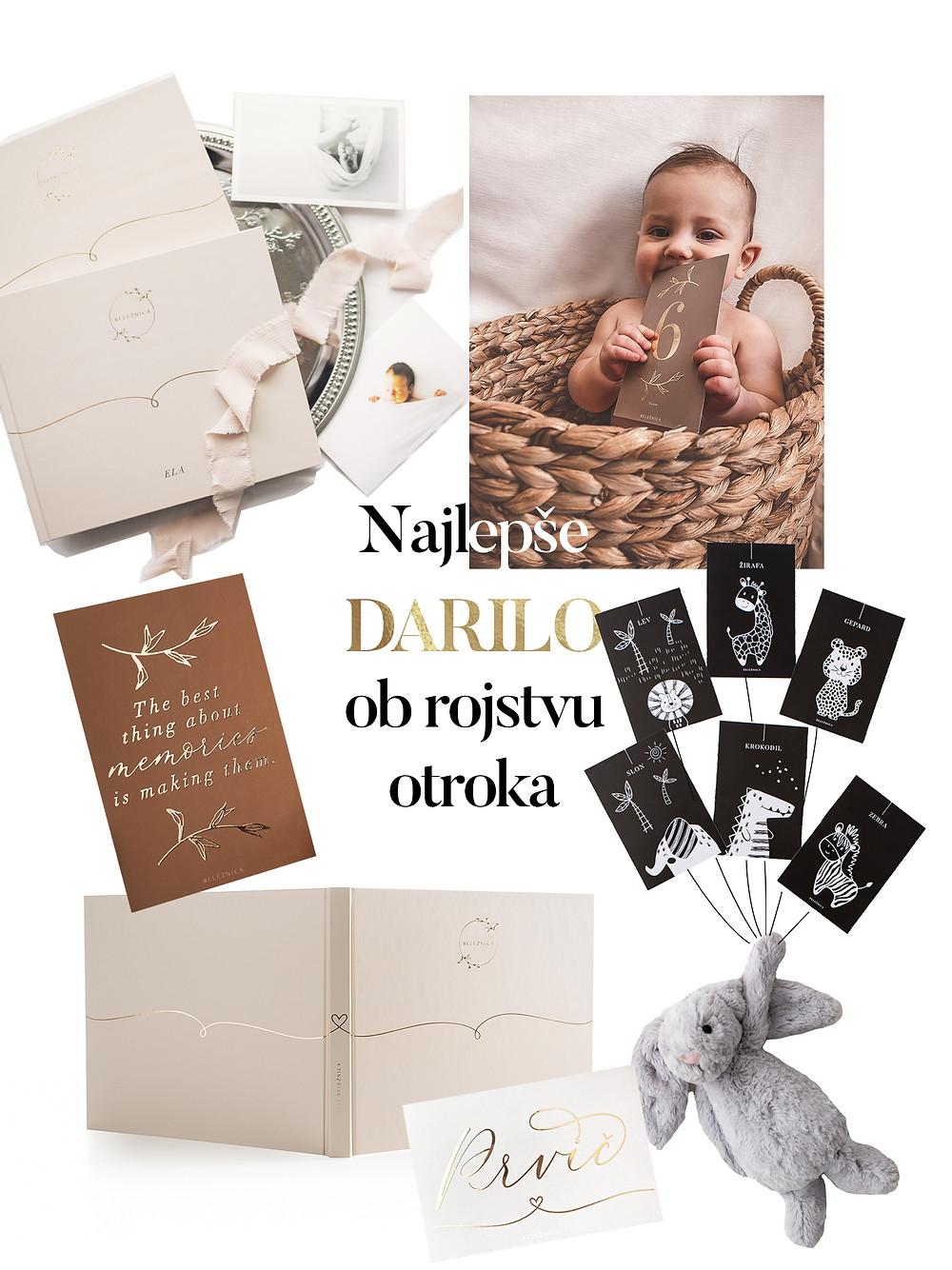 Ideje za najlepse darilo ob rojstvu otroka / babyshowerju