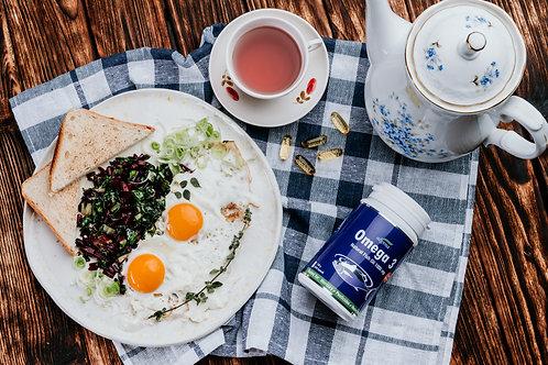 Omega3 z E vitaminom prehransko dopolnilo, Omega 3 ki ne povzroca refluxa, kakovostno ribje olje Omega3