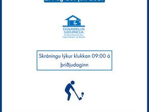 Stigamót GS & Eignamiðlun Suðurnesja