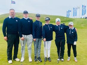 Unglingarnir okkar á Íslandsmóti golfklúbba um helgina