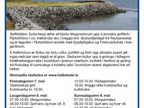 Golfferð GS á Hellishóla