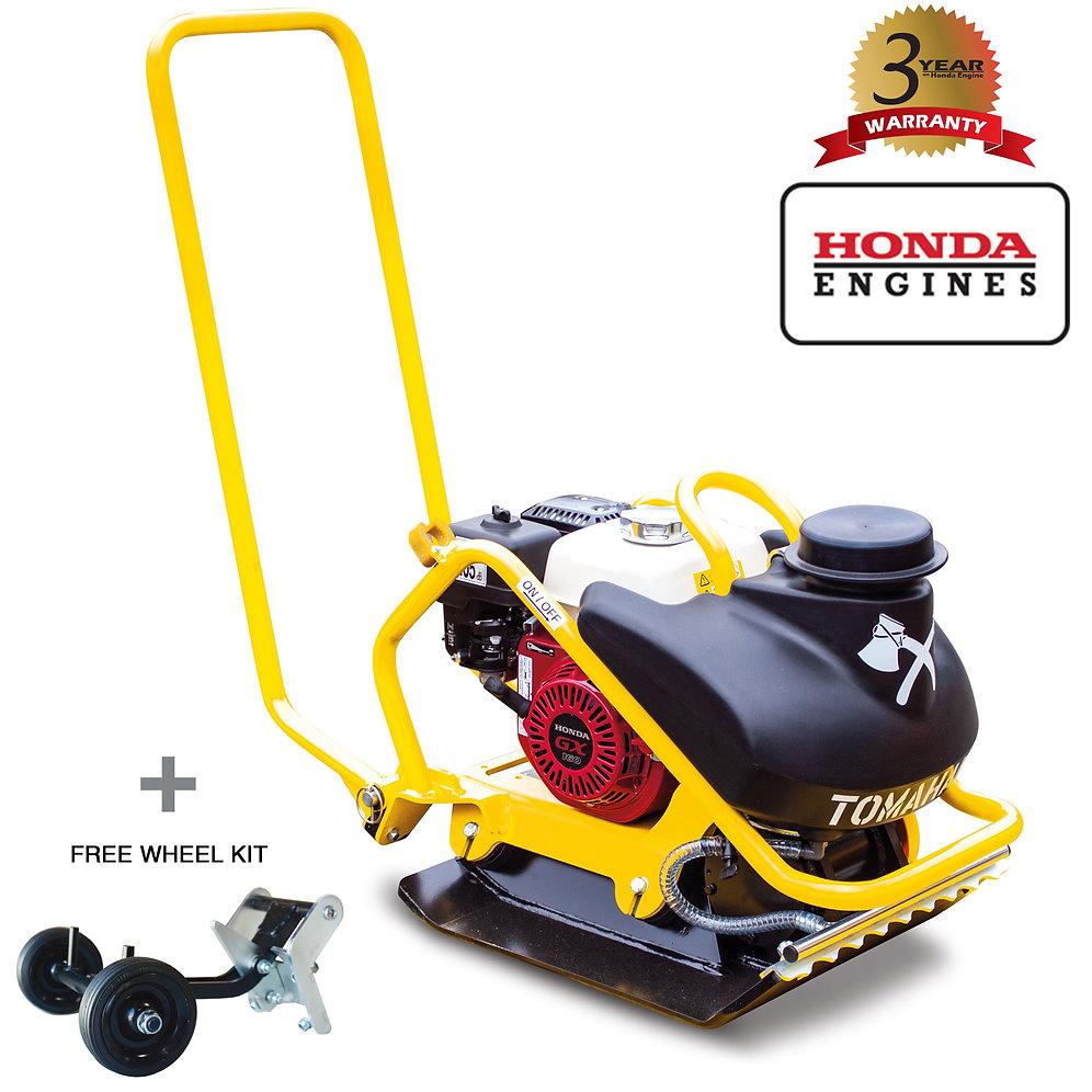 5 5 HP Honda Vibratory Plate Compactor for Asphalt Aggregate Soil Compation
