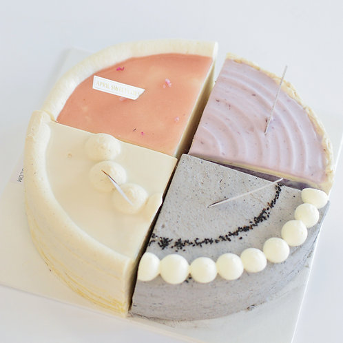 Mille Crepe Cake Combo - 9 inch