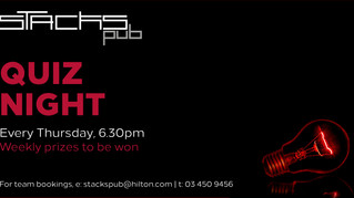 Stacks Pub Weekly Quiz Nights!