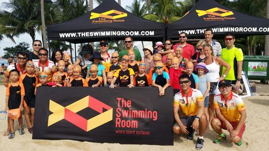 TSR Students in Tri Factor Swim