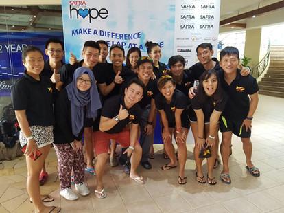 Coaches Swim For Hope Oct 2016