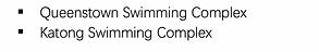 Swimming Locations