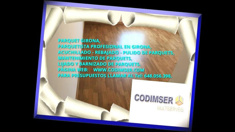 Parquets Girona CODIMSER Multiservicios, Parquetista Profesional