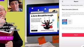 #每日第一手國外社群新知 #數位社群行銷平台的變化【TikTok推出新的視頻系列以幫助用戶偵測錯誤信息⚠】