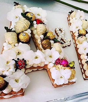 Beautiful Wedding Letter Cake.jpg