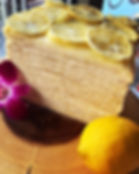 Lemon Chiffon Crepe Mille Cake 😋😋😋 #c