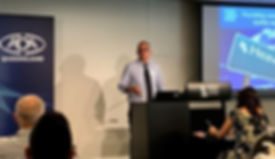Dr Harry Ball Presenting to the Queensland ADA