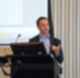 Dr Simon Frenkel presenting to dentists during the Dental Sleep Institute 2016 seminar series